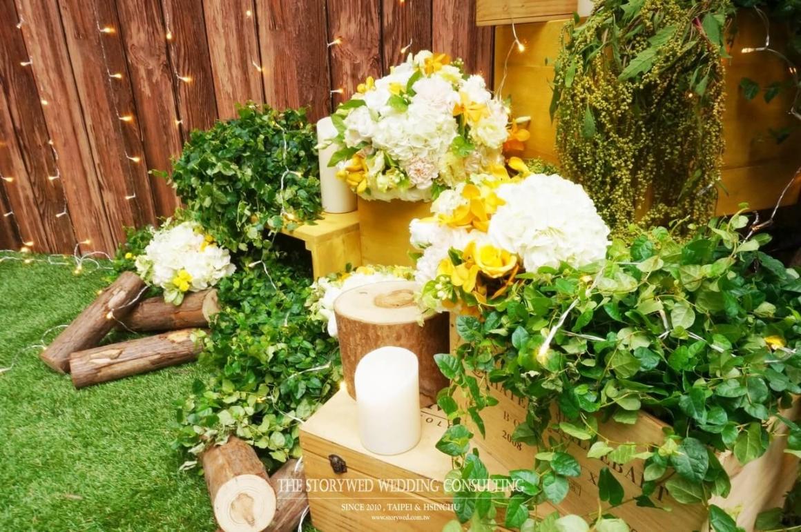 《婚禮佈置:美式鄉村》清新森林