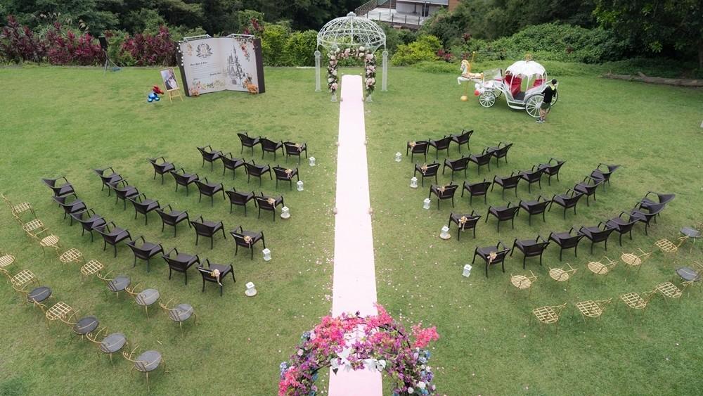 皇室主題婚禮:優聖美地鄉村度假別墅