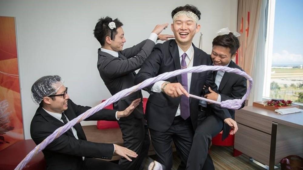 婚禮迎娶分享 - 闖關遊戲