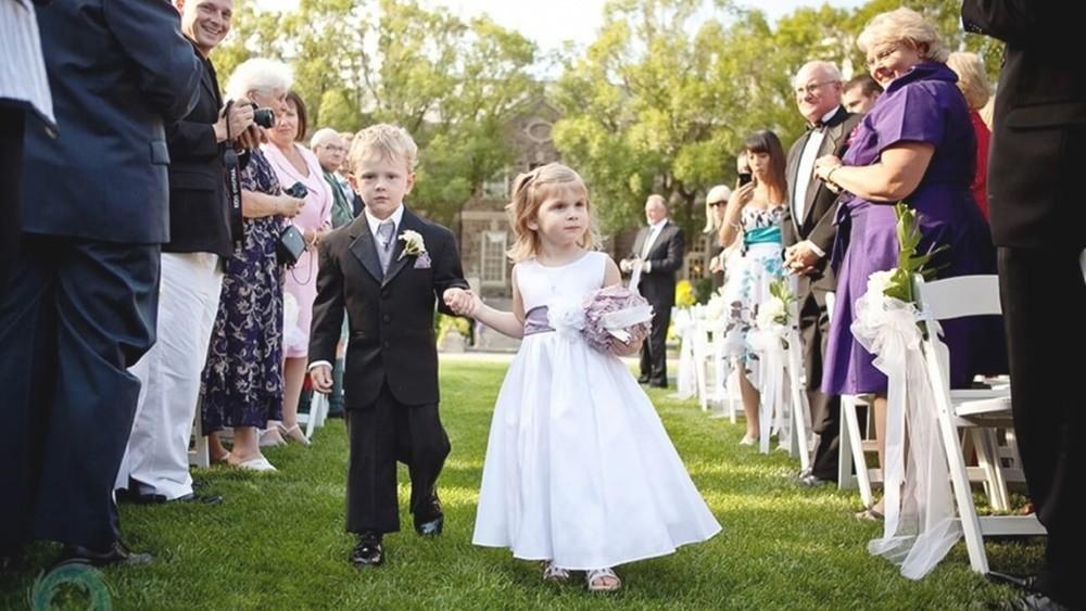 婚禮一定要有花童嗎?