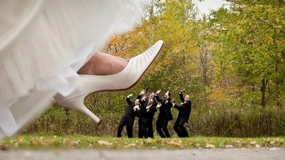婚禮上的20個拍照創意