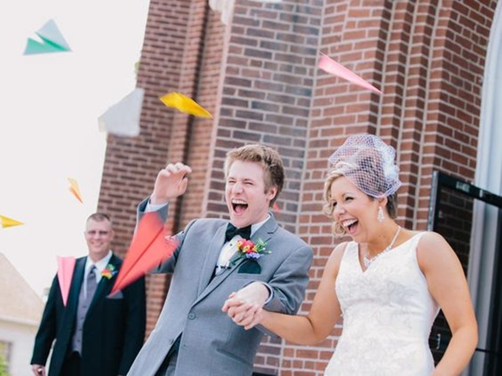 儀式:婚禮中浪漫的慶祝儀式