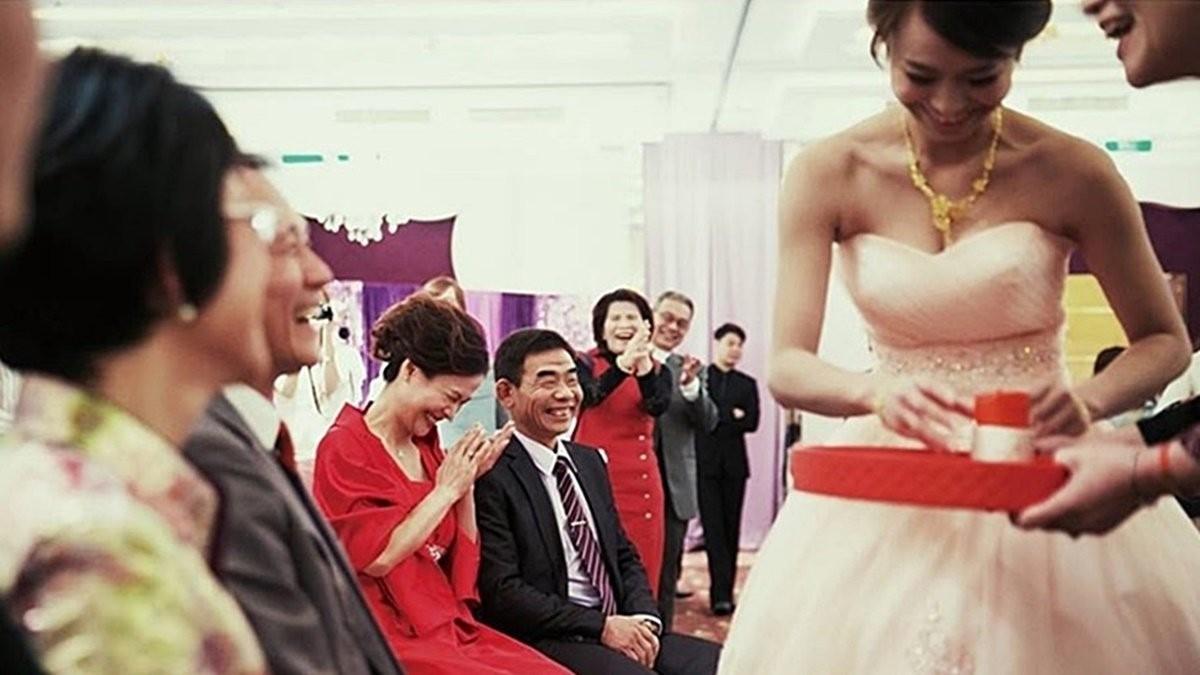 婚禮文定禮俗 - 壓茶甌