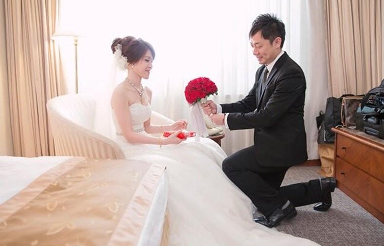 婚禮習俗 - 安新床