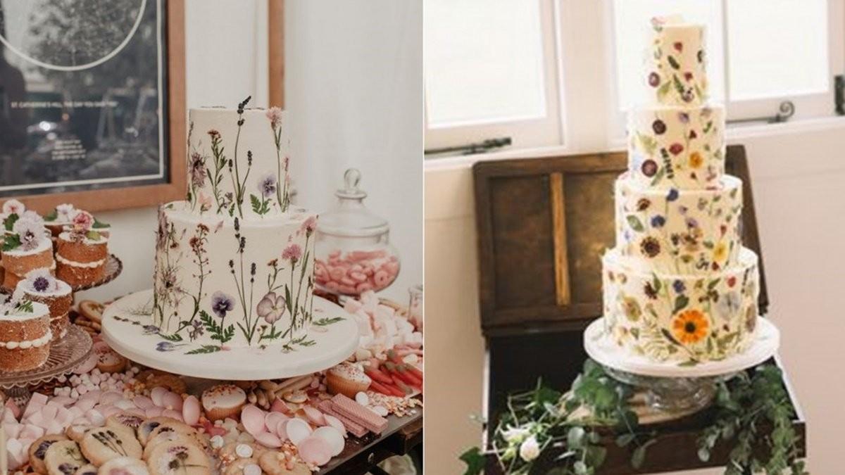 不能錯過的5種婚禮蛋糕趨勢