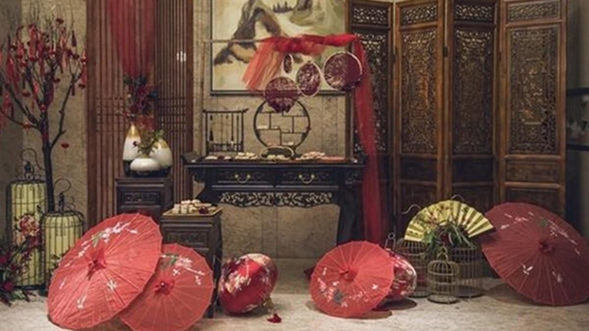 質感中國風婚宴佈置元素靈感