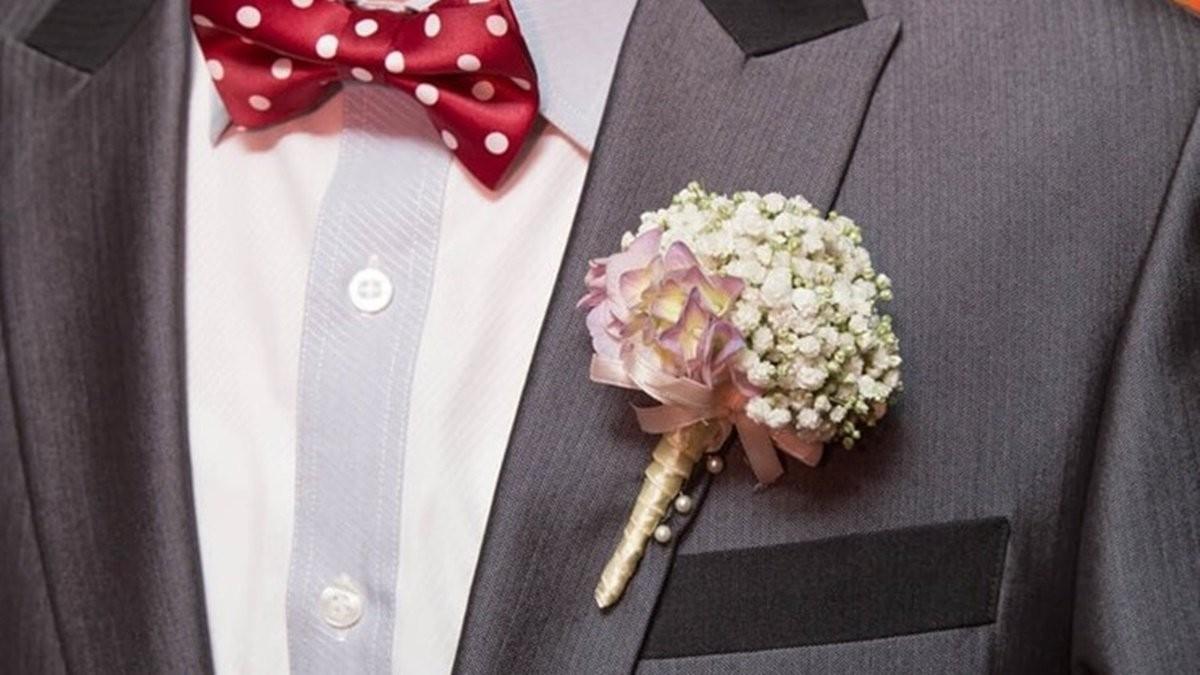 婚禮顧問教你如何配戴胸花