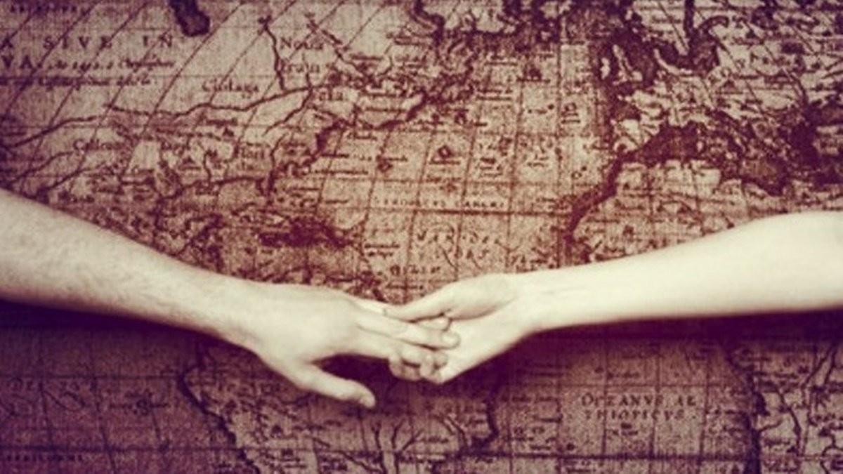 遠距離戀愛的主題婚禮