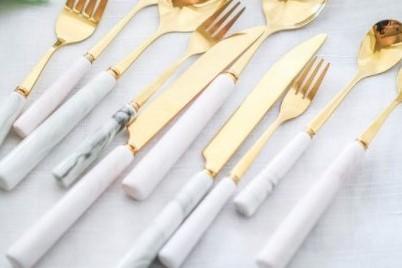 大理石紋-主餐刀