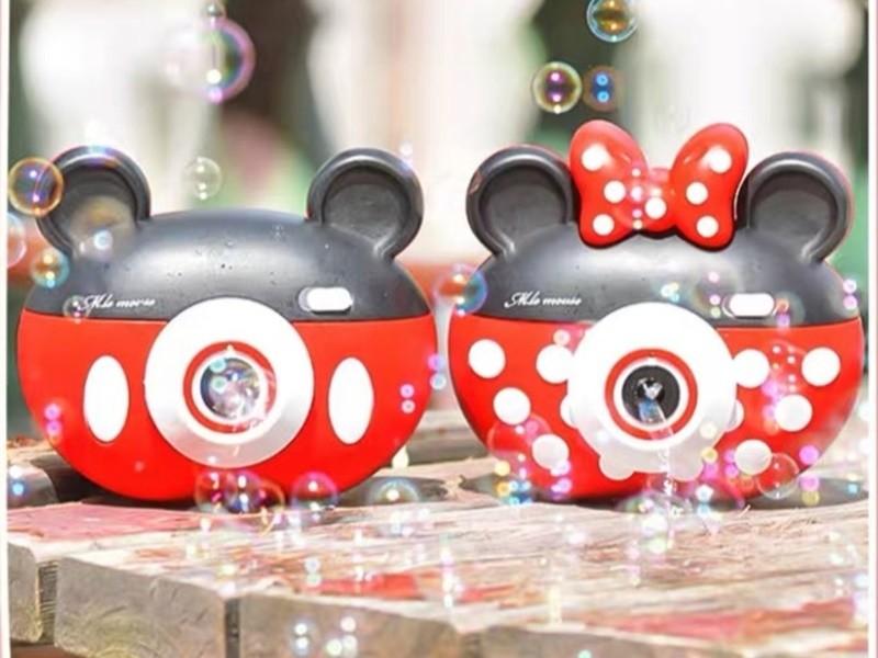 米奇米妮相機造型泡泡機