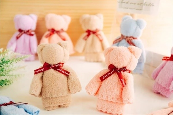 婚禮推薦毛巾熊