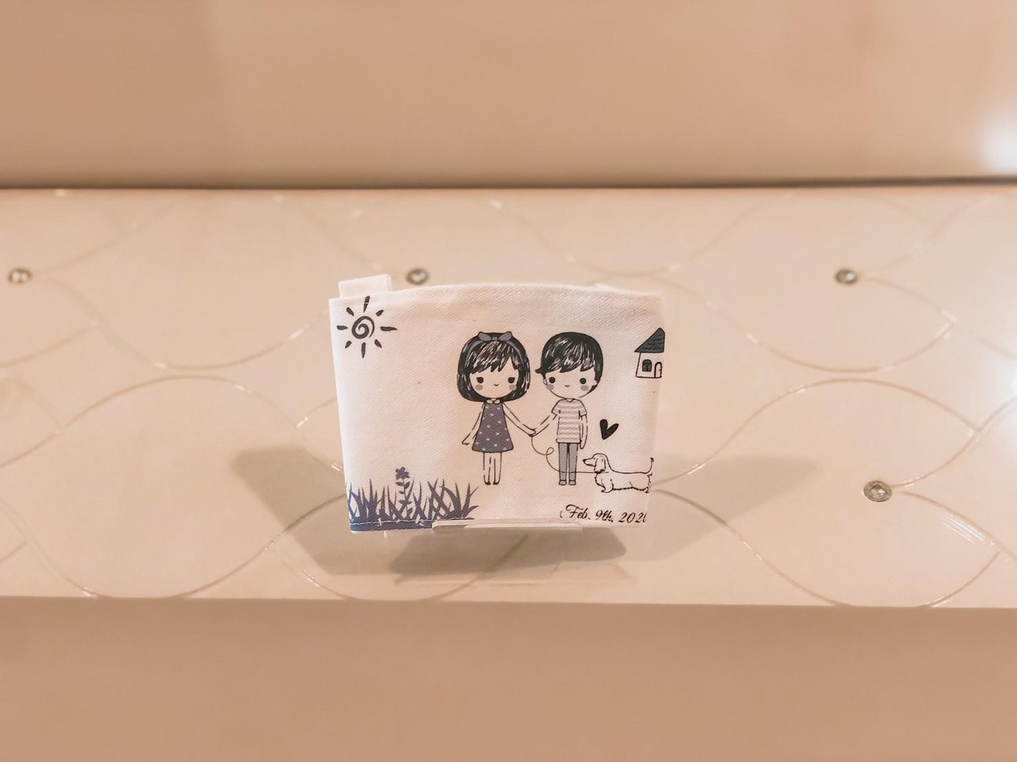精緻婚禮小物-客製化杯套