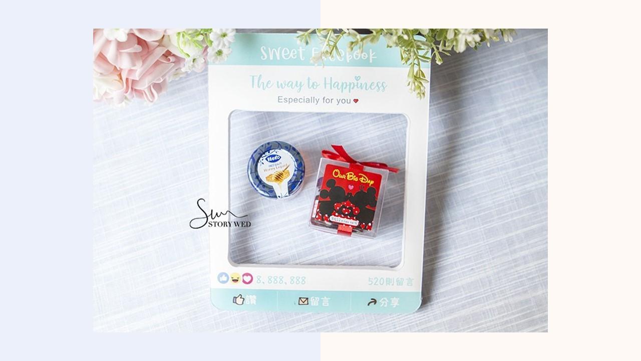 透明盒米奇米妮風格hero藍蓋小蜂蜜-我們的大日子(D)