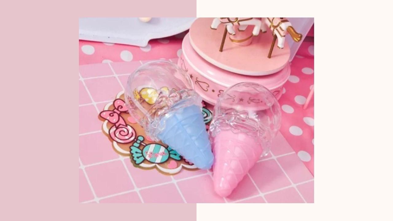 可愛造型冰淇淋甜筒盒(B)