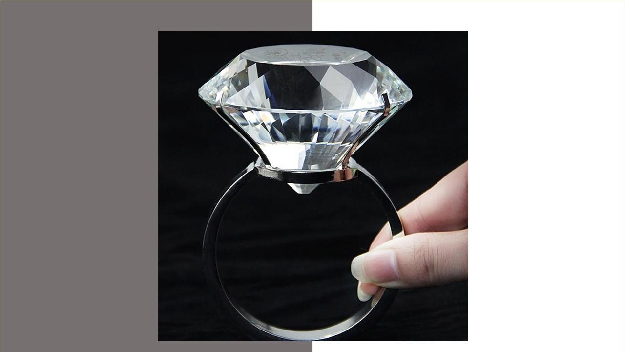 超大鑽石求婚戒(D)