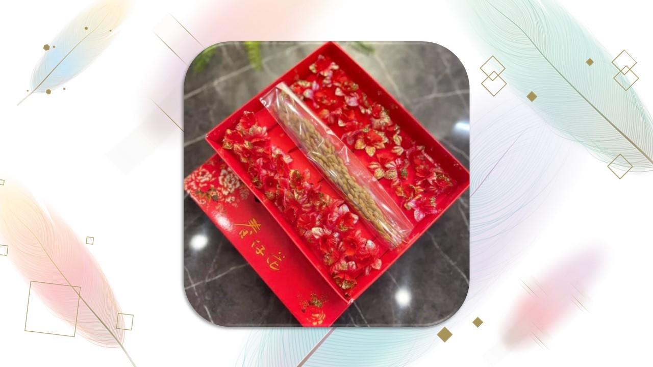 金春花+稻穗禮盒