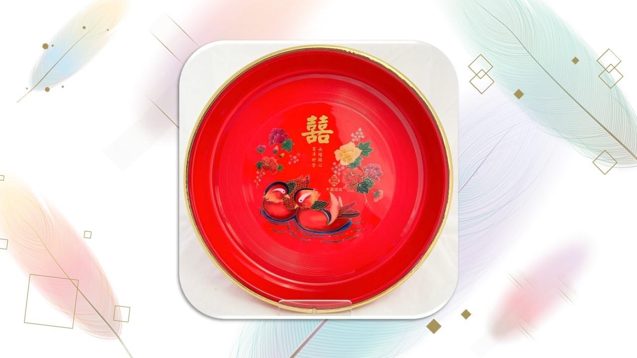 【茶盤】藝術茶盤(鴛鴦)