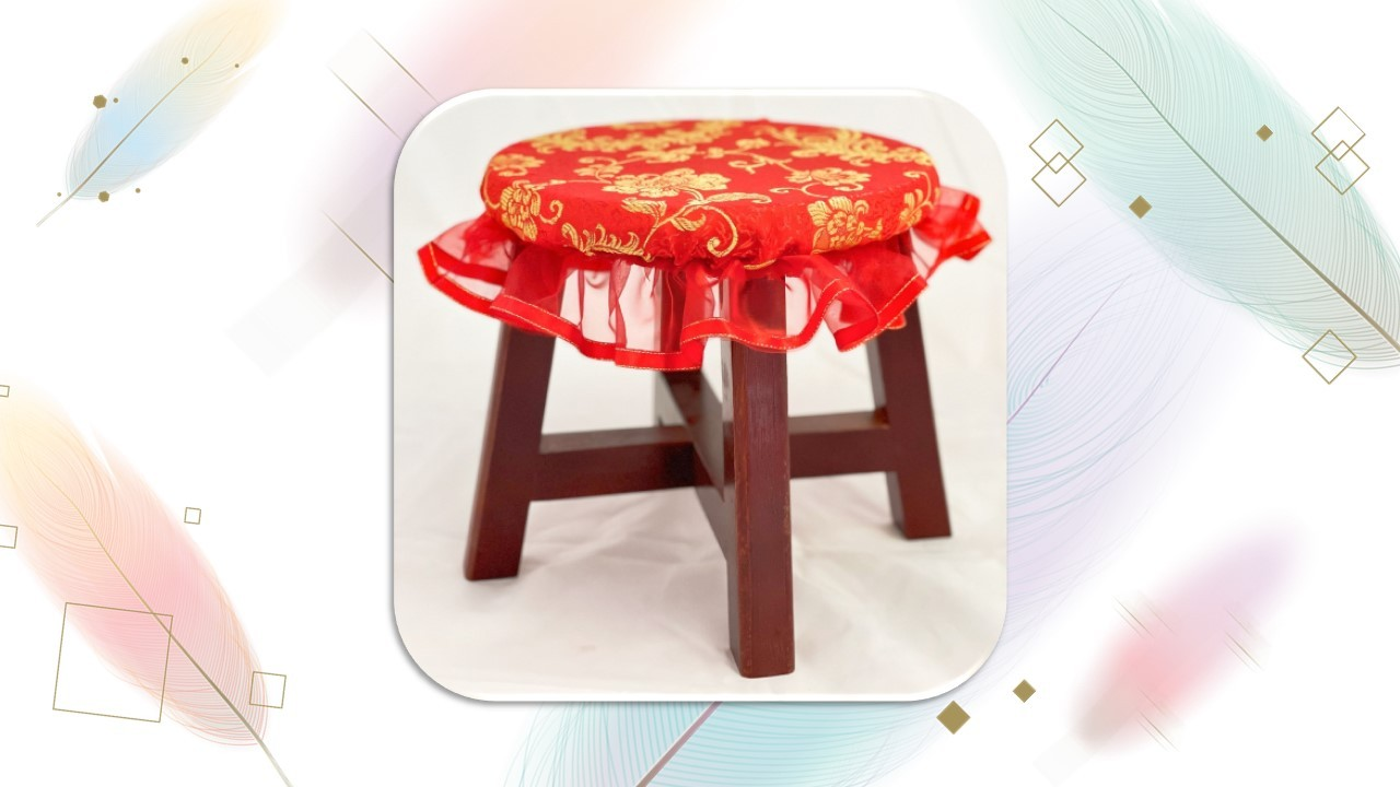 子孫椅(矮+蕾絲套)