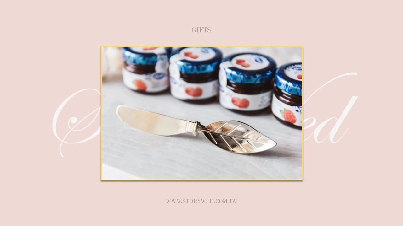 葉子造型抹醬刀婚禮活動小物(A)
