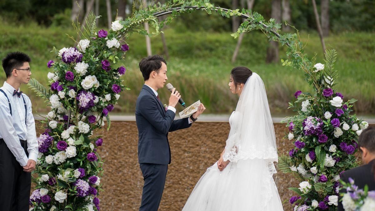 【西式證婚│婚禮主持│婚禮攝影】宗霖&筱靜
